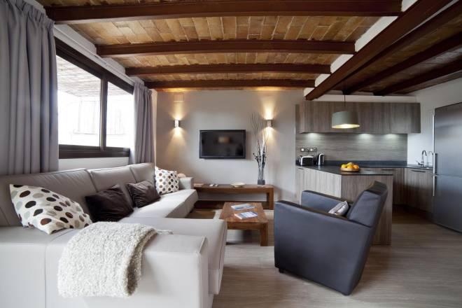 Penthouse plaza catalunya barcellona appartamenti for Appartamenti in affitto a barcellona